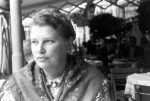 Photo of Catherine taken by Merton at a restaurant, 1941.