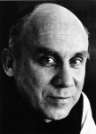 Photo of Thomas Merton by John Howard Griffin, used on his funeral card.