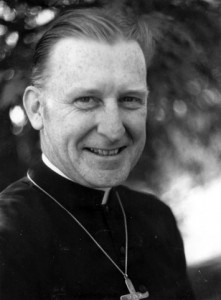 Father Callahan on Holy Thursday, 1958.
