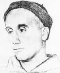 Portrait of Thomas Merton by Victor Hammer.