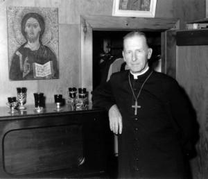 Fr. Cal at Madonna House, c. 1962.