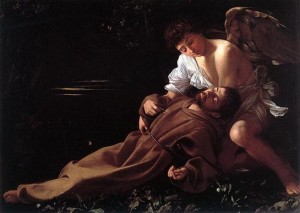 St. Francis in Ecstasy by Caravaggio